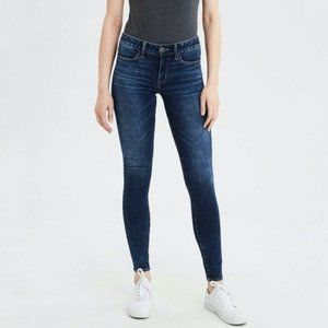 American Eagle Next Level Stretch Skinny Jeans {D}